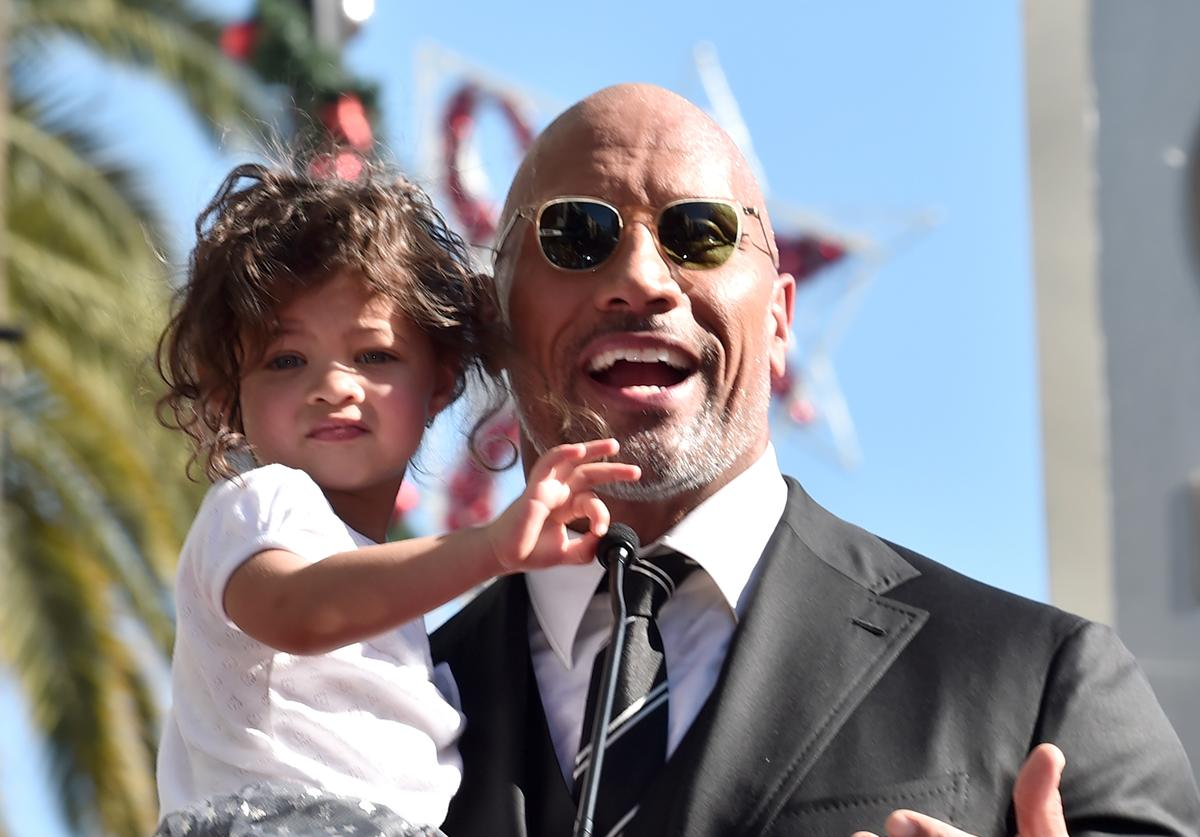 The Rock & Baby