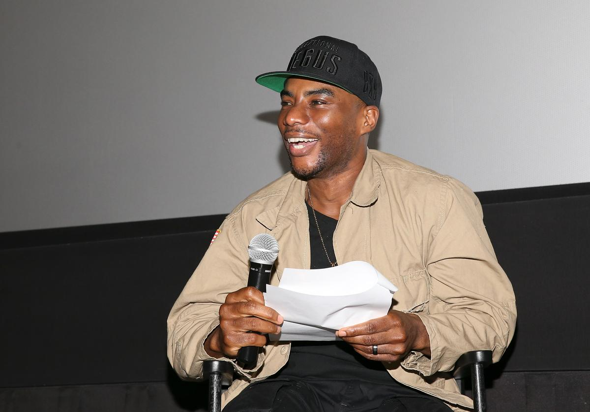 Radio personality Charlamagne tha God discuss the BET series 'Tales' at AMC 34th Street on June 8, 2017 in New York City.
