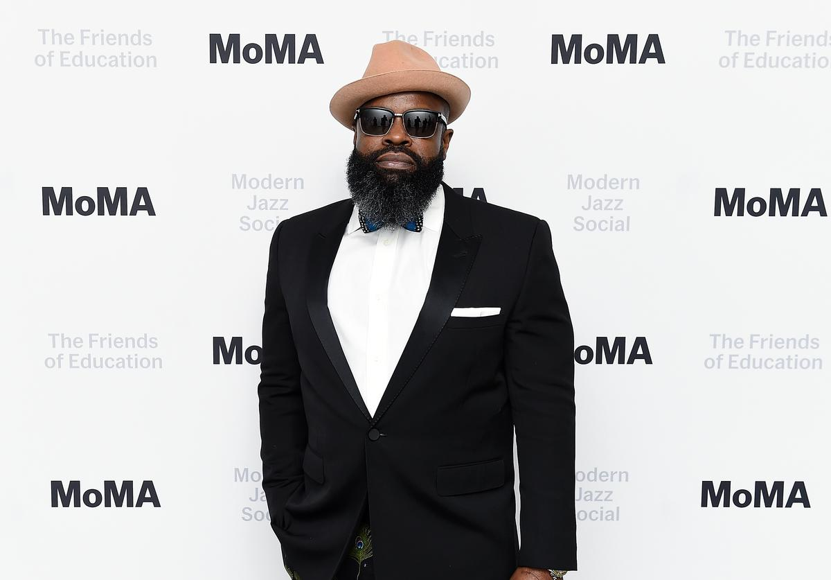 Rapper Tariq 'Black Thought' Trotter attends the 2018 Modern Jazz Social at Museum of Modern Art on April 3, 2018 in New York City