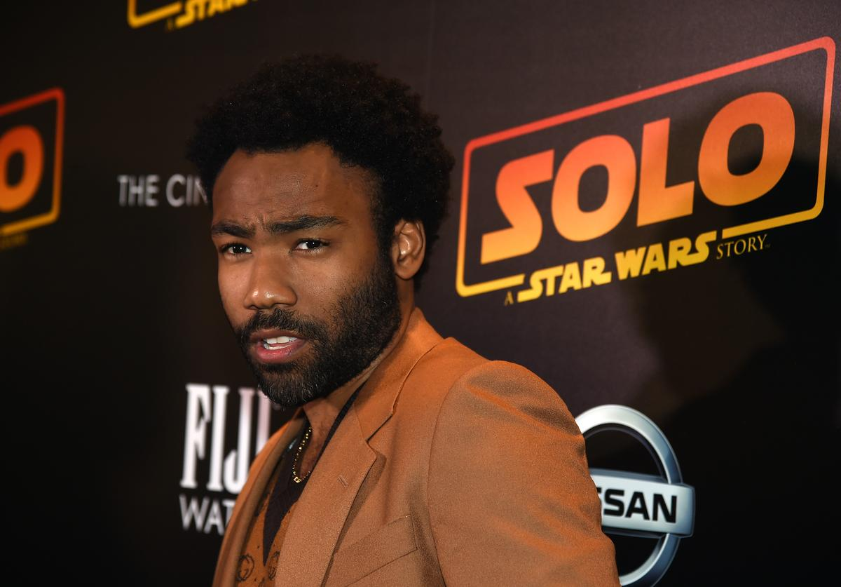 Donald Glover attends 'Solo: A Star Wars Story' New York Premiere on May 21, 2018 in New York City