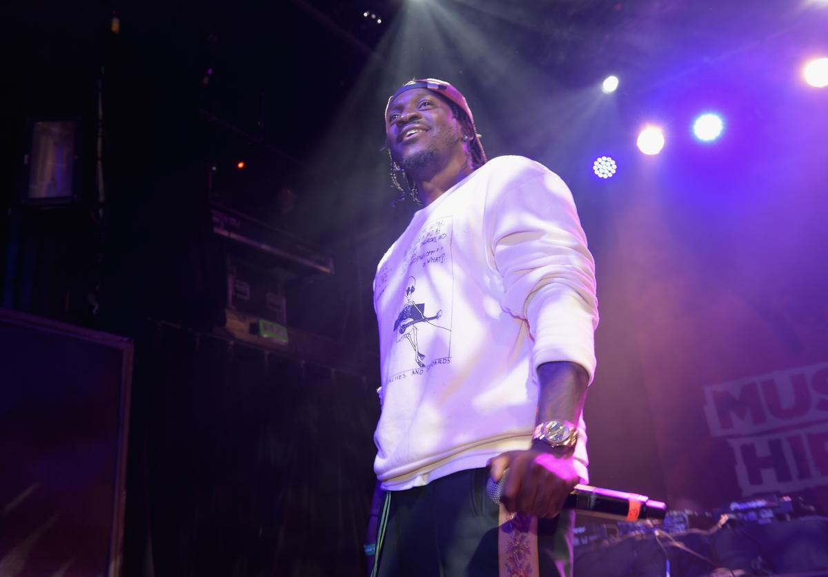 Pusha T performs onstage at Music Is Universal Hip-Hop Showcase presented by UMGB + Mass Appeal on September 25, 2017 in New York City