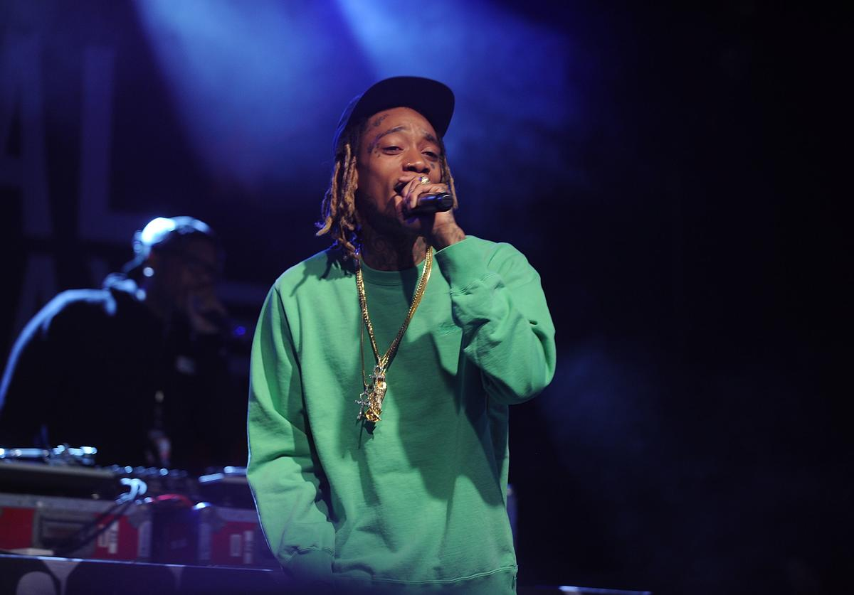 Wiz Khalifa performs at the 2nd Annual National Concert Day Show at Irving Plaza on May 3, 2016 in New York City