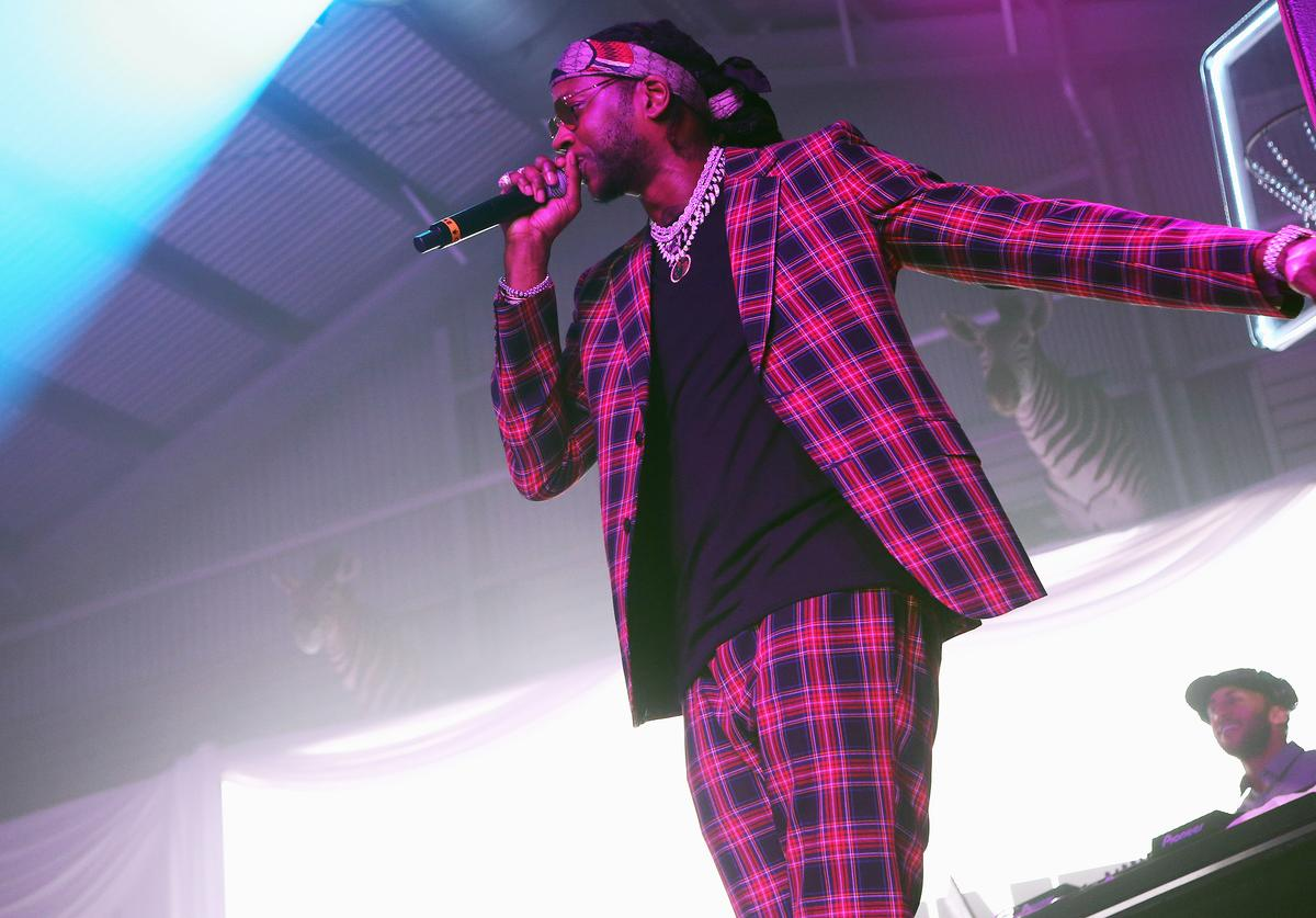 2 Chainz attends the Def Jam Celebrates NBA All Star Weekend at Milk Studios in Hollywood With Performances by 2 Chainz, Fabolous & Jadakiss, Presented by Patron Tequila at Milk Studios on February 16, 2018 in Hollywood, California