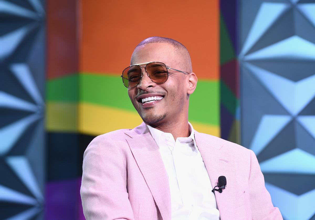 T.I. speaks onstage at the Genius Talks sponsored by AT&T during the 2018 BET Experience at the Los Angeles Convention Center on June 23, 2018 in Los Angeles, California