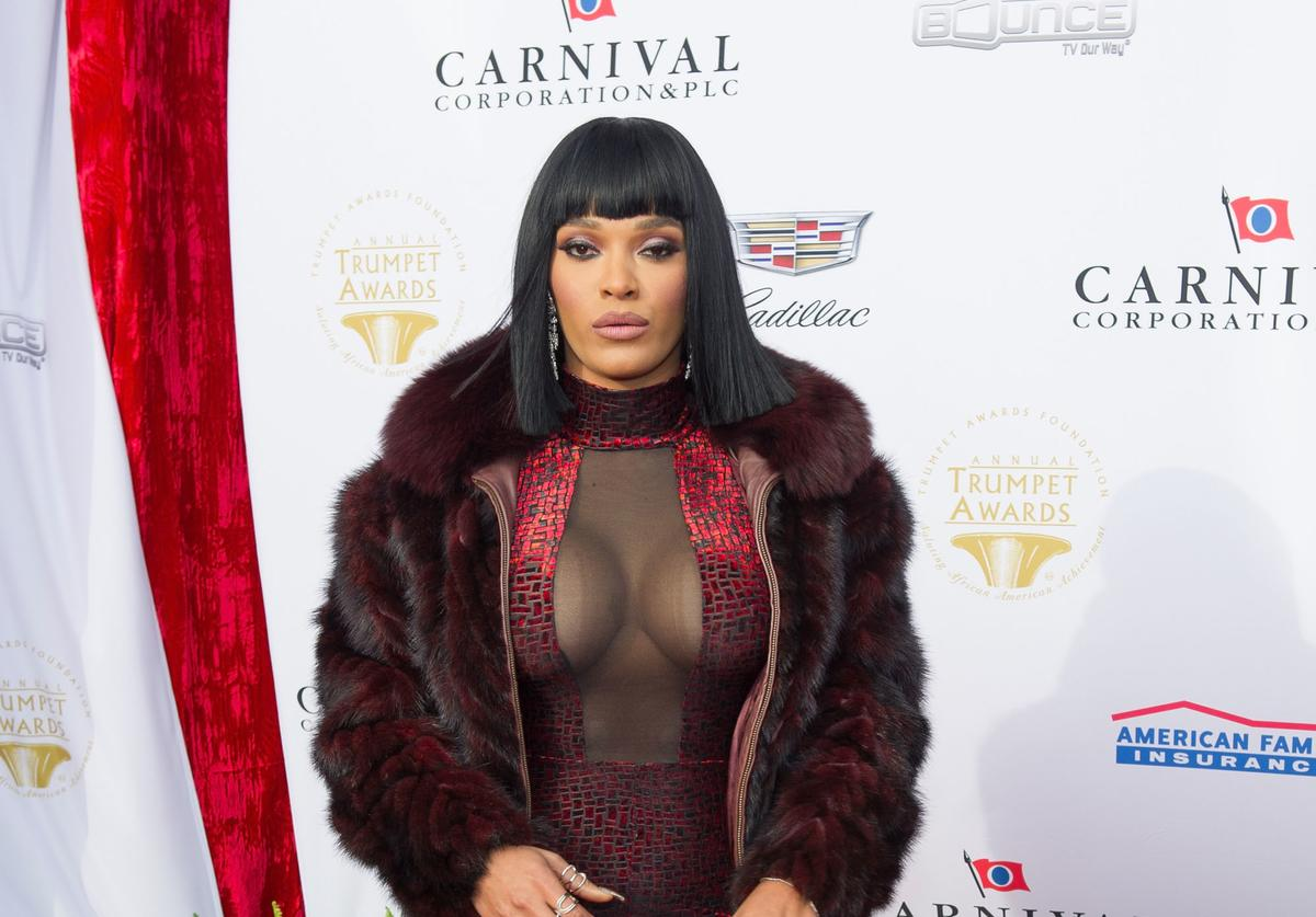 Joseline Hernandez attends the 2016 Trumpet Awards on January 23, 2016 in Atlanta, Georgia