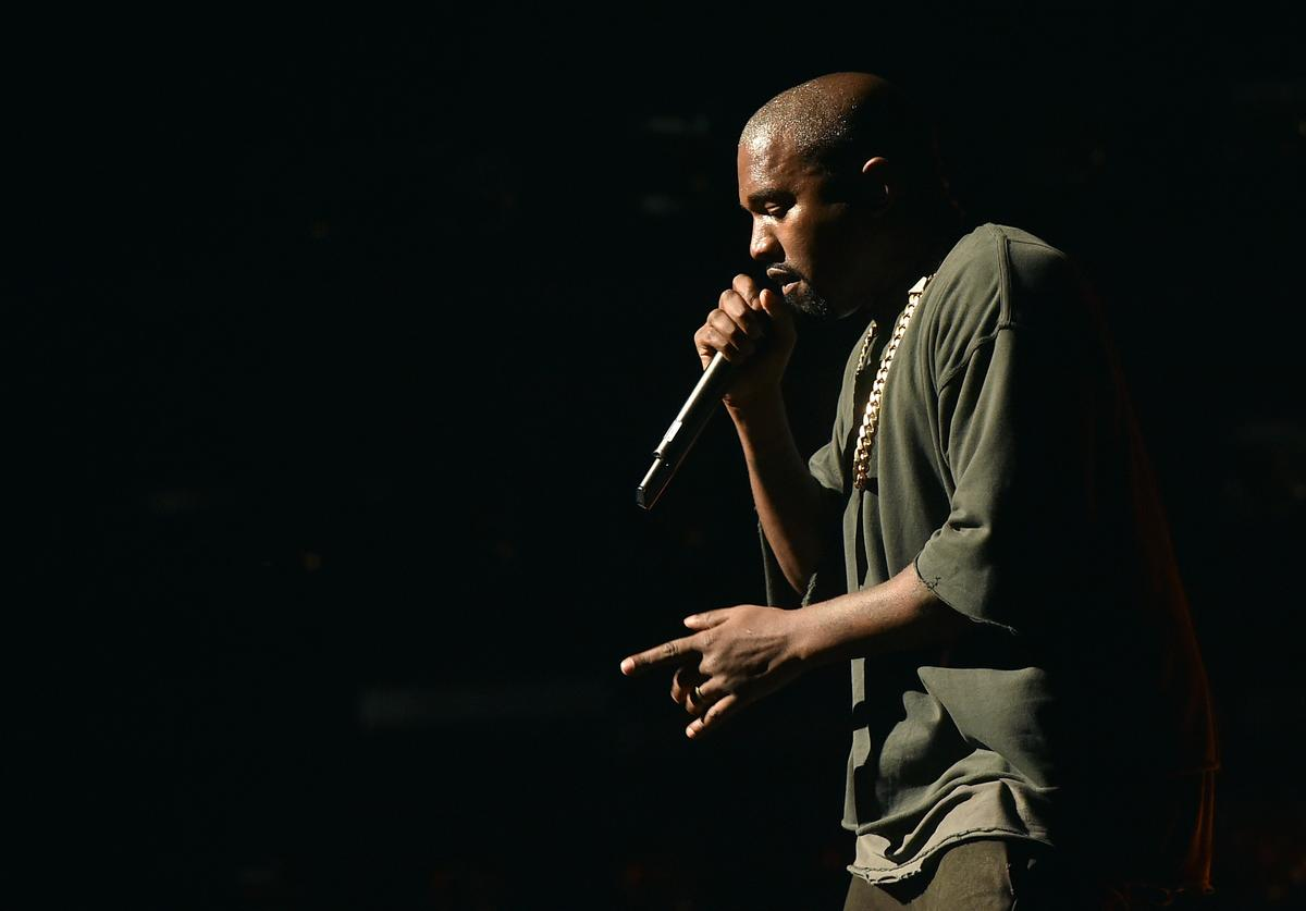 Kanye West performs onstage at the 2015 iHeartRadio Music Festival at MGM Grand Garden Arena on September 18, 2015 in Las Vegas, Nevada