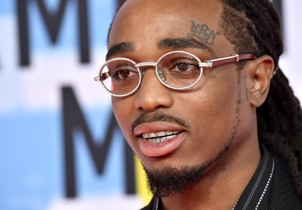 Quavo attends the 2018 American Music Awards at Microsoft Theater on October 09, 2018 in Los Angeles, California