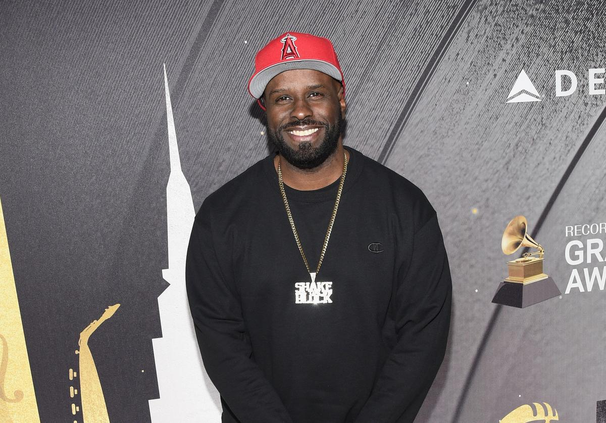 DJ Funk Flex attends Delta Air Lines, the Official Airline Partner of the GRAMMY Awards® and Supporter of First-Time Nominees hosted a private performance with Julia Michaels to celebrate the 60th Annual GRAMMY Awards with celebrity guests and friends, at The Bowery Hotel, January 25, 2018