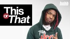 """Lil Keed Picks Lil Wayne Over Drake & Speaks On Quitting Weed On """"This Or That"""""""