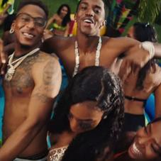 "King Combs, Yung Miami, Tee Grizzley,  AZChike Throw A Wild Party For ""Surf"" Summer Single"