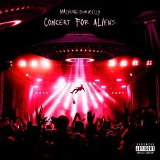 """Machine Gun Kelly Puts On A """"Concert For Aliens"""" In New Pop-Punk Single"""