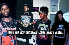 Why Hip Hop Suddenly Loves Heavy Metal