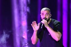 Drake & Raye Were Hugging Up On Each Other At A Fendi Party