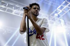 """J. Cole's First Week Sales Projections For """"KOD"""" Are Looking Strong"""