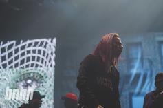 6ix9ine Covered His Face Tattoos For Fear Of Being Arrested At Summer Jam