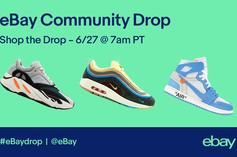 """Ebay Launches First Ever """"Community Sneaker Drop"""""""