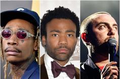 "Childish Gambino, Mac Miller & Wiz Khalifa Are On This Week's ""FIRE EMOJI"" Playlist"