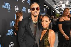 """August Alsina Pens Sweet Birthday Message To Jada Smith: """"You're Nothing Like The Rest"""""""