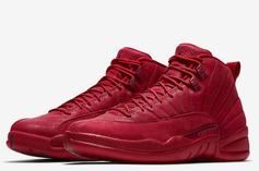 "Air Jordan 12 ""Gym Red"" Slated For Black Friday: Official Images"