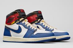 Union x Air Jordan 1 Collab Releasing In Two Colorways This Weekend