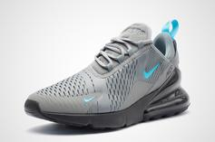 Nike Air Max 270 Cool Grey And Blue Fury Details