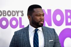 """50 Cent Shares Throwback Pic Of Super-Bowl """"Infinity Gauntlet"""""""