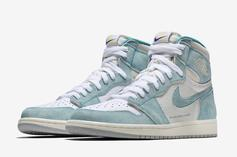 "Air Jordan 1 ""Turbo Green"" Official Images Revealed"