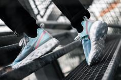 "Nike React Element 87 ""Royal Tint"" On-Feet Images And Release Info"