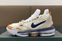 """Nike LeBron 16 """"Medicine Ball"""" Nods To The Classic Air Trainer 3"""