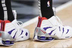 "Vince Carter Debuts Another ""Raptors"" Nike Shox BB4 PE"