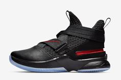 """Nike LeBron Soldier 12 """"Bred"""" Dropped Today: Details"""