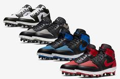 Air Jordan 1 OG Colorways Turned Into Football Cleats