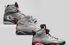 """Air Jordan """"Reflections Of A Champion"""" Pack Honors MJ's First Three-Peat"""