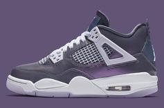 "Air Jordan 4 ""Monsoon Blue"" Official Images & Release Info"