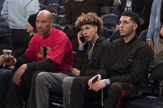 """LaVar Ball Says Zion Williamson """"Can't Hold A Candle"""" To LiAngelo"""