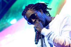 """Young Thug Says The Phrase """"Clout Chasing"""" Is Dead: """"You Really Bullying A N***a"""""""