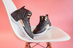 "Air Jordan 12 ""Midnight Black"" Releases Today: Purchase Links"