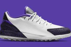 """Jordan Brand Brings The """"Concord"""" Colorway To Its Golf Shoe: Details"""