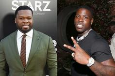 50 Cent Refuses To Drink Out The Same Bottle As Toe-Sucking Casanova