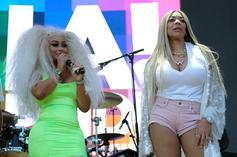 """Wendy Williams Spotted Enjoying The Single Life With """"Little Sister"""" Blac Chyna"""
