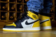"Air Jordan 1 High OG ""Yellow Toe"" Rumored For Fall Release: Details"