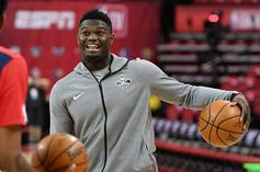 Zion Williamson Weighing Sneaker Offers From PUMA And Nike: Report
