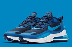 "Nike Air Max 270 React ""Blue Void"" Drops Next Friday: Official Photos"