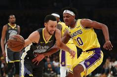 Warriors Take Shots At Lakers During Chase Center Scoreboard Reveal