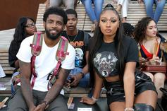 Megan Thee Stallion Chills With Michael B. Jordan & Kyrie Irving At NYFW; Twitter Reacts