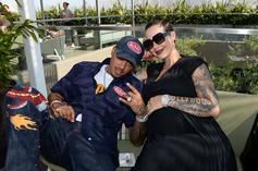 Amber Rose & A.E. Welcome Baby Boy Slash Electric