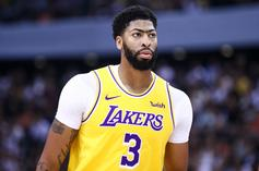 Anthony Davis Injury Status Updated By The Lakers Following Thumb Sprain