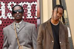 A$AP Rocky Addresses Travis Scott Beef