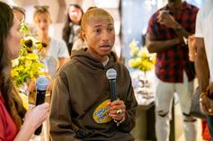 Pharrell Williams Rumored To Have Adidas 4D Sneaker In The Works: Photos