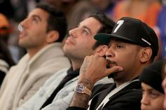 "Stephen Jackson: NBA Teams Received A Mass Text, ""Don't F*ck With Carmelo"""